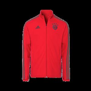 Details zu Original FCB adidas Teamline Kinder Trainingsjacke FC Bayern München