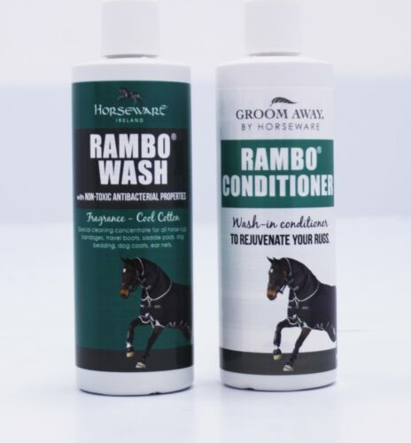 HW Rambo Duo Pack Rug Wash /& Conditioner