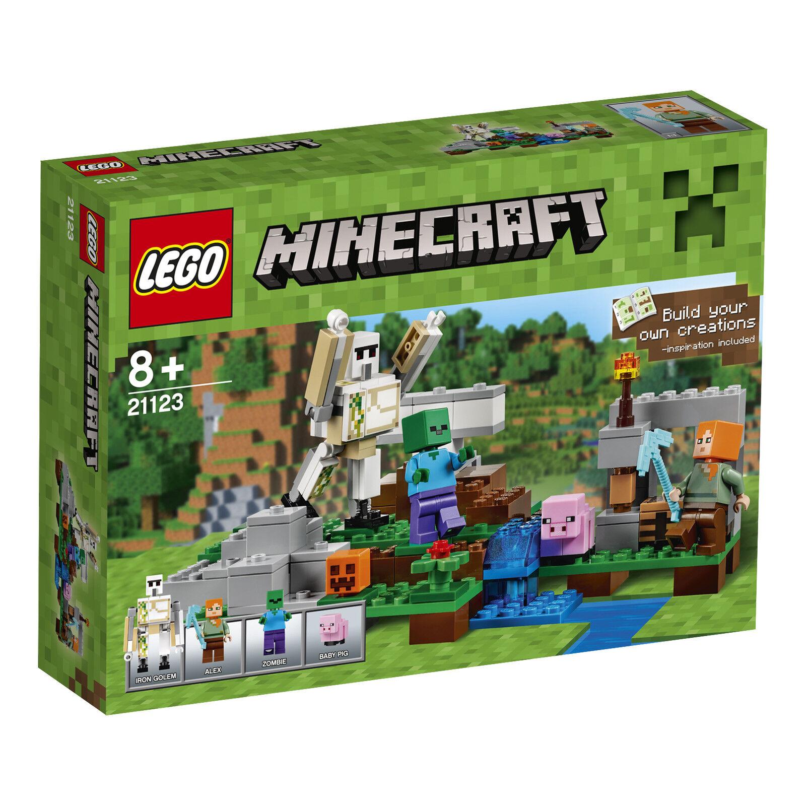 LEGO ® Minecraft ™ 21123 del ferro Golem NUOVO OVP _ THE IRON Golem NEW MISB NRFB