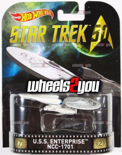 2016 Hot Wheels Retro Entertainment USS ENTERPRISE NCC-1701-50th Anniversary