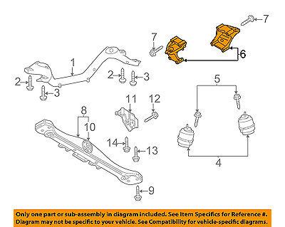 CHRYSLER OEM Engine Motor /& Transmission-Mounting Bracket Left 68275987AA