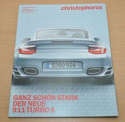 Begeistert Porsche Christophorus Nr. 345 Magazin 08/10 911 Turbo S