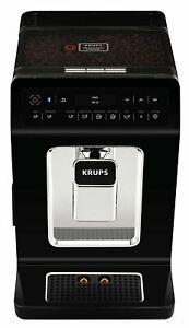 Krups Evidence Coffee Machine, Bean to Cup Machine, Black, Automatic, Hot Bevera