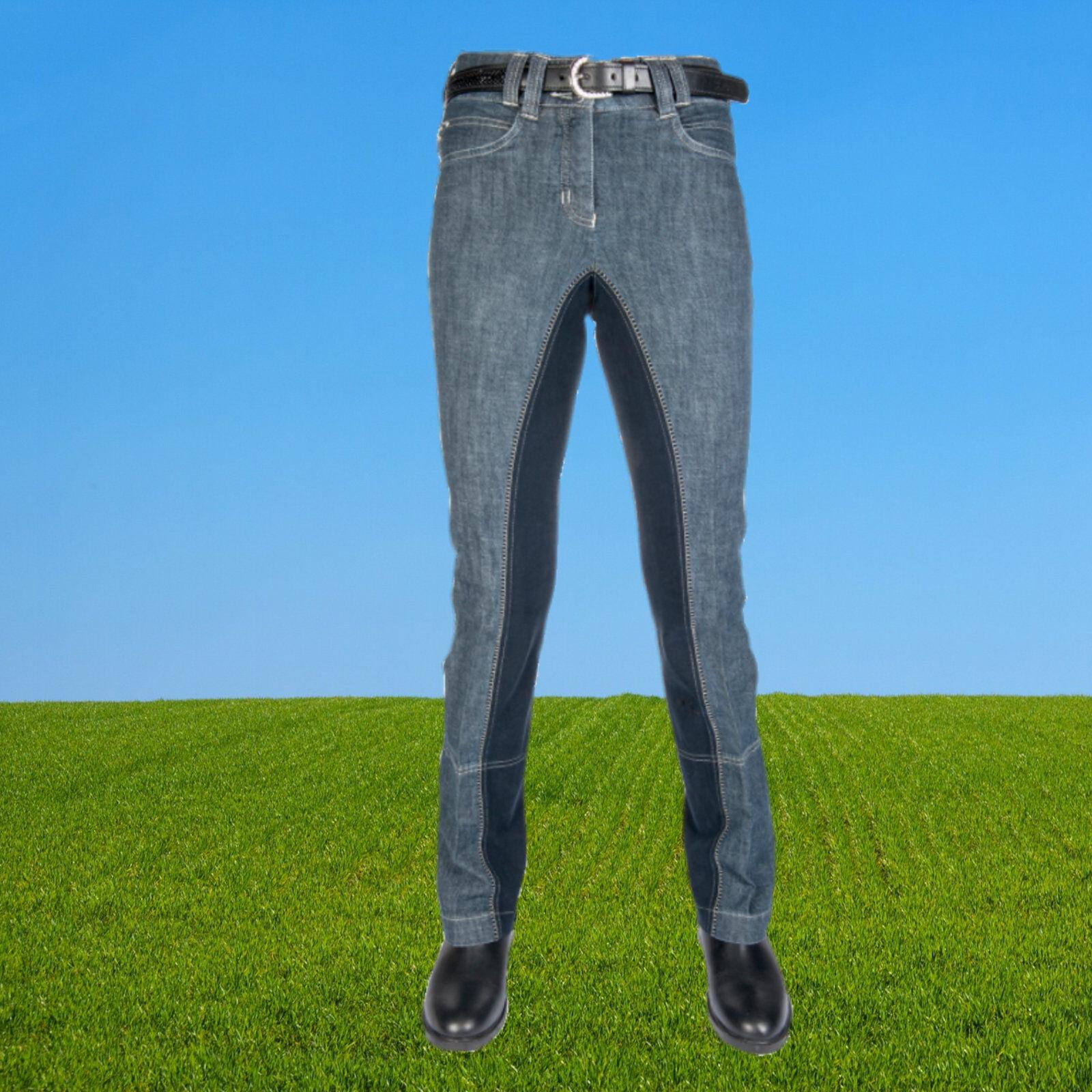 HKM Kinder Jodhpur Reithose Jeans, Blink, Miss Blink, Jeans, Hochbund, Kids Jodhpurreithose 91d6d3