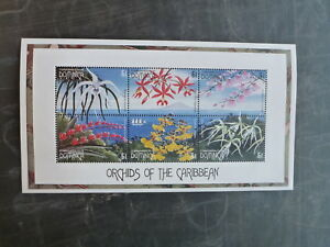 1997-DOMINICA-ORCHIDS-OF-THE-CARIBBEAN-6-STAMP-SHEETLET-MNH