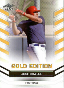 034-Rare-034-Josh-Naylor-2015-Feuille-Draft-034-or-Edition-034-Carte-Rookie