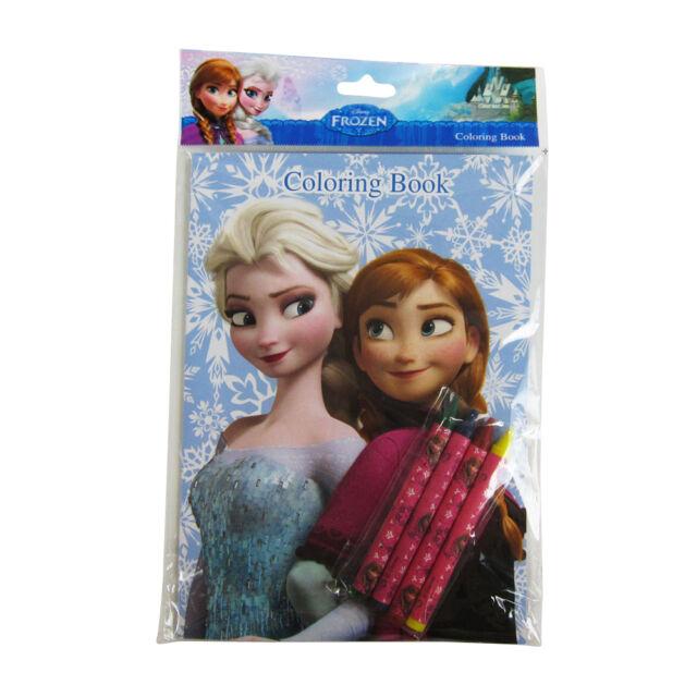 Brand New Walt Disney Frozen Elsa Anna Blue Activity Coloring Book 16 Pages