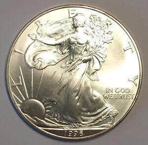1996-1-oz-Silver-American-Eagle