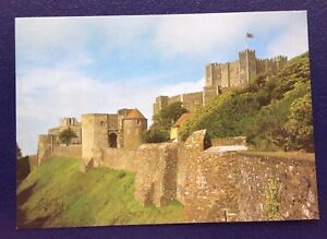 POSTCARD-P6-DOVER-CASTLE-KENT-VIEWS-FROM-SOUTH-WEST-UN-POSTED