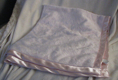 Blankets & Throws Rational Cuddle Bear Collection Pink Velour Baby Blanket Satin Trim Rn 69016 Soft Plush