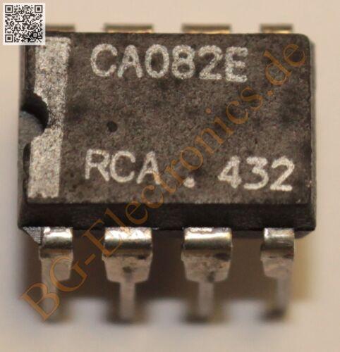 1 x CA082E Operationsverstärker operational amplifier OPV OPA RCA DIP-8 1pcs