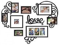 7-piece Love Photo Gallery Frame Set Hallway Dining Room Wall Picture Decor