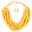 Fashion-Boho-Crystal-Pendant-Choker-Chain-Statement-Necklace-Earrings-Jewelry thumbnail 150