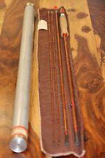 Vintage Heddon Bamboo Fly Rod Fishing  #14 9', Fer.2 1/2, Wt. 5.8 oz
