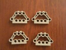 Lot of 6 32316 4211651  /_ LEGO Technic 5m Beam /_Medium Stone Grey