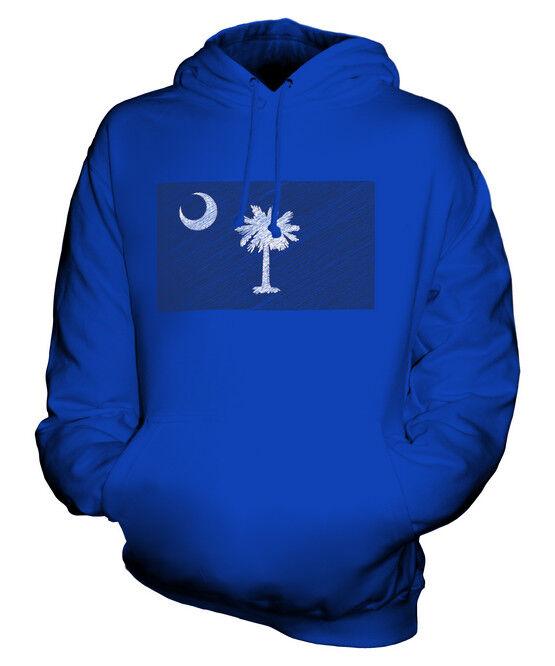 SOUTH CAROLINA SCRIBBLE FLAG UNISEX HOODIE HOODIE HOODIE TOP GIFT SOUTH CAROLINIAN FOOTBALL  | Reparieren  | Schön geformt  | Für Ihre Wahl  16ea86