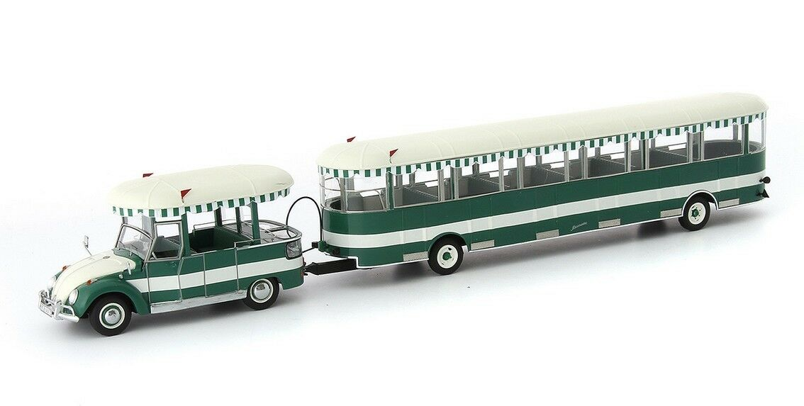 AUTOCULT ATC 10001, VW WOLFSBURGER SIGHTSEEING TRAILER , 1 43 SCALE