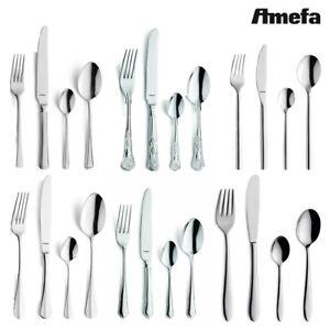Image Is Loading Amefa Cutlery Set 24 Piece Stainless Steel Stylish