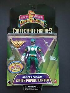 Bandai 2008 Mighty Morphin Power Rangers Super Legends Green Power Ranger