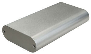 Black Aluminum Project Box Enclosure Case Electronic DIY 130x70x24mm/_Small
