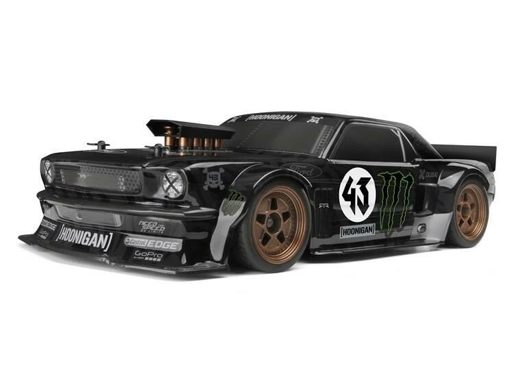 HPI RS4 Sport 3 1965 Hoonicorn Ford Mustang 1 10 4WD Electric RC Car RTR 115990