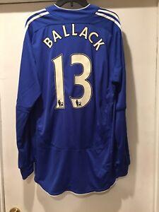 uk availability e245f 2de1f Details about Michael Ballack 2007-2008 Home Jersey Premier League Chelsea  FC Formotion