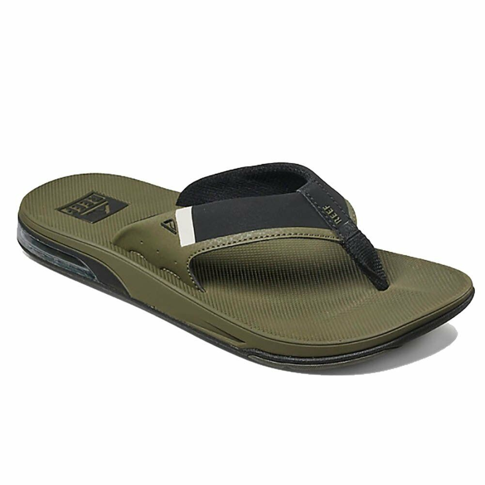 Reef Fanning Fanning Fanning Low  Flip Flops Green Men 8870eb