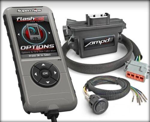 SuperChips Amp/'D Throttle Booster Kit For Chevy//GMC Trucks 99-18