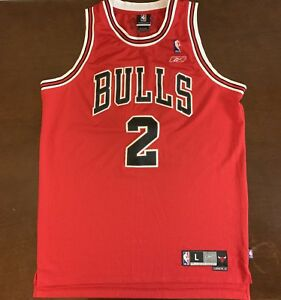 981c52a14fb Rare Vintage Reebok NBA Chicago Bulls Eddy Curry Basketball Jersey ...