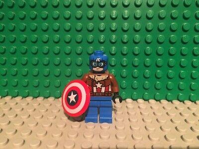 SH374 76076 Pilot Captain America Lego