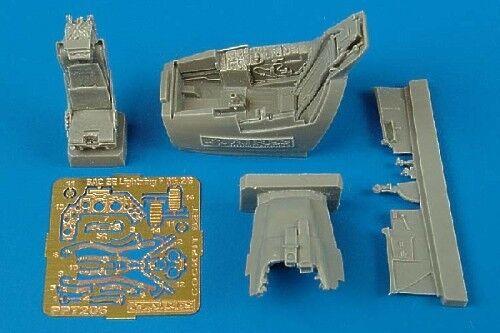 Aires 1//72 EE Lightning F Mk.2//6 COCKPIT SET FOR TRUMPETER KIT # 7206