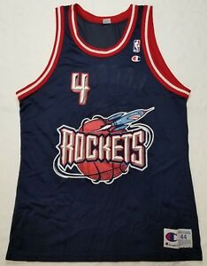 Image is loading Charles-Barkley-Houston-Rockets-Champion-NBA-jersey-men- fe0ff6c5f