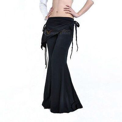 Fashion Tribal Belly Dance Pants Bottom Costume Black