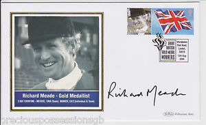 GREAT-BRITISH-GOLD-MEDAL-WINNERS-SIGNED-FDC-COVER-RICHARD-MEADE-2004-OLYMPIC
