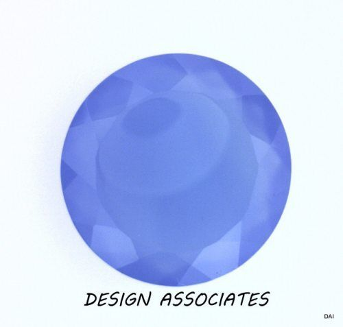 DARK BLUE CHALCEDONY 10 MM ROUND OUTSTANDING BLUE COLOR
