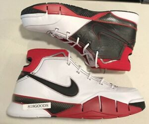 075a9629c9be NIKE ZOOM KOBE 1 PROTRO ALL STAR GAME ASG WHITE BLACK RED MEN S 14 ...