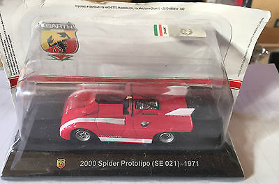 """Die Cast """" 2000 Spider Prototipo Course Box 2 Scale 1/43 High Standard In Quality And Hygiene se 021 - 1971 """""""