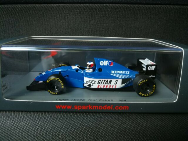 Michael Schumacher Ligier JS39B Test Estoril Formel 1 1994 1:43 Spark