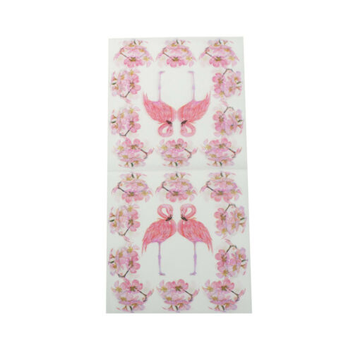 20pcs Flamingo Paper Napkins Party Tissue For Birthday//Wedding Party Decor V!