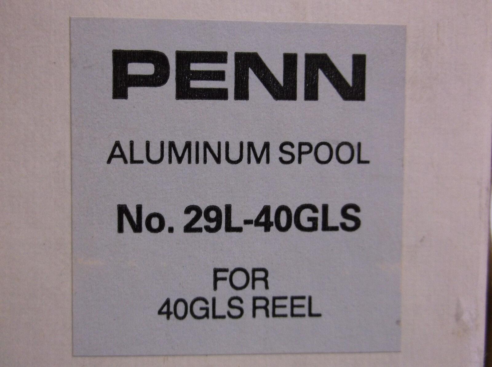 NEW - PENN REEL PART  - 29L-40 Graphite Lever Drag Senator 40GLS 45GLS Spool  famous brand