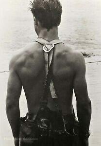 1981-Vintage-BRUCE-WEBER-Male-Model-Jon-Clammer-Martha-Vineyard-Photo-Art-16X20