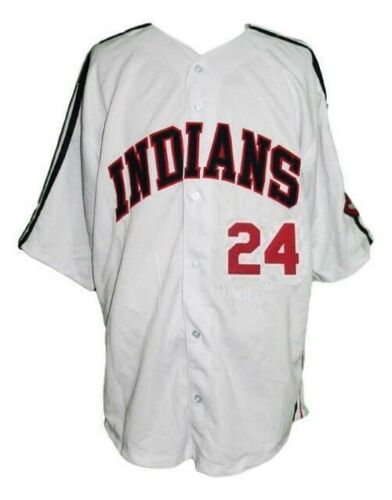 Roger Dorn #24 Major League Movie Baseball Jersey Button Down White Any Size