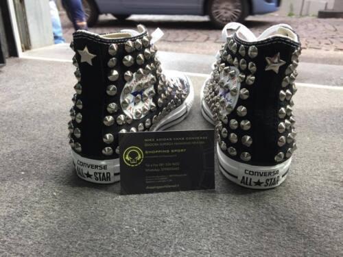 Star All High personnalis Black Converse TOqUwnxvXx