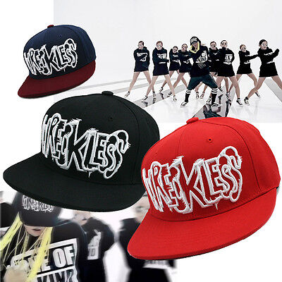 TEAMLIFE WRECKLESS KPOP Characters Hat G-Dragon Man BIGBANG Cap Hiphop Running