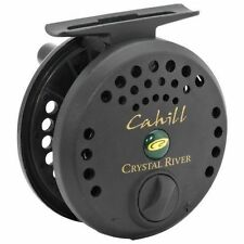Crystal River Cahill fly fishing reel line size 3 4 5  graphite spool black