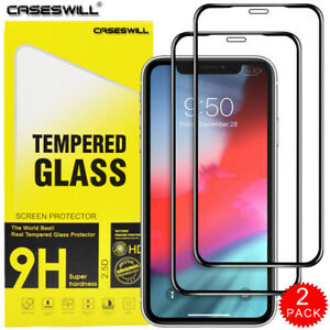 For-iPhone-12-mini-11-Pro-X-XR-XS-Max-Caseswill-Tempered-Glass-Screen-Protector