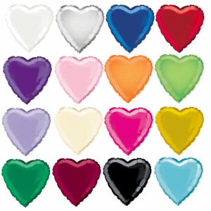 18-034-Foil-Heart-Balloon-16-Colours-To-Choose-Helium-Quality-Party-Wedding