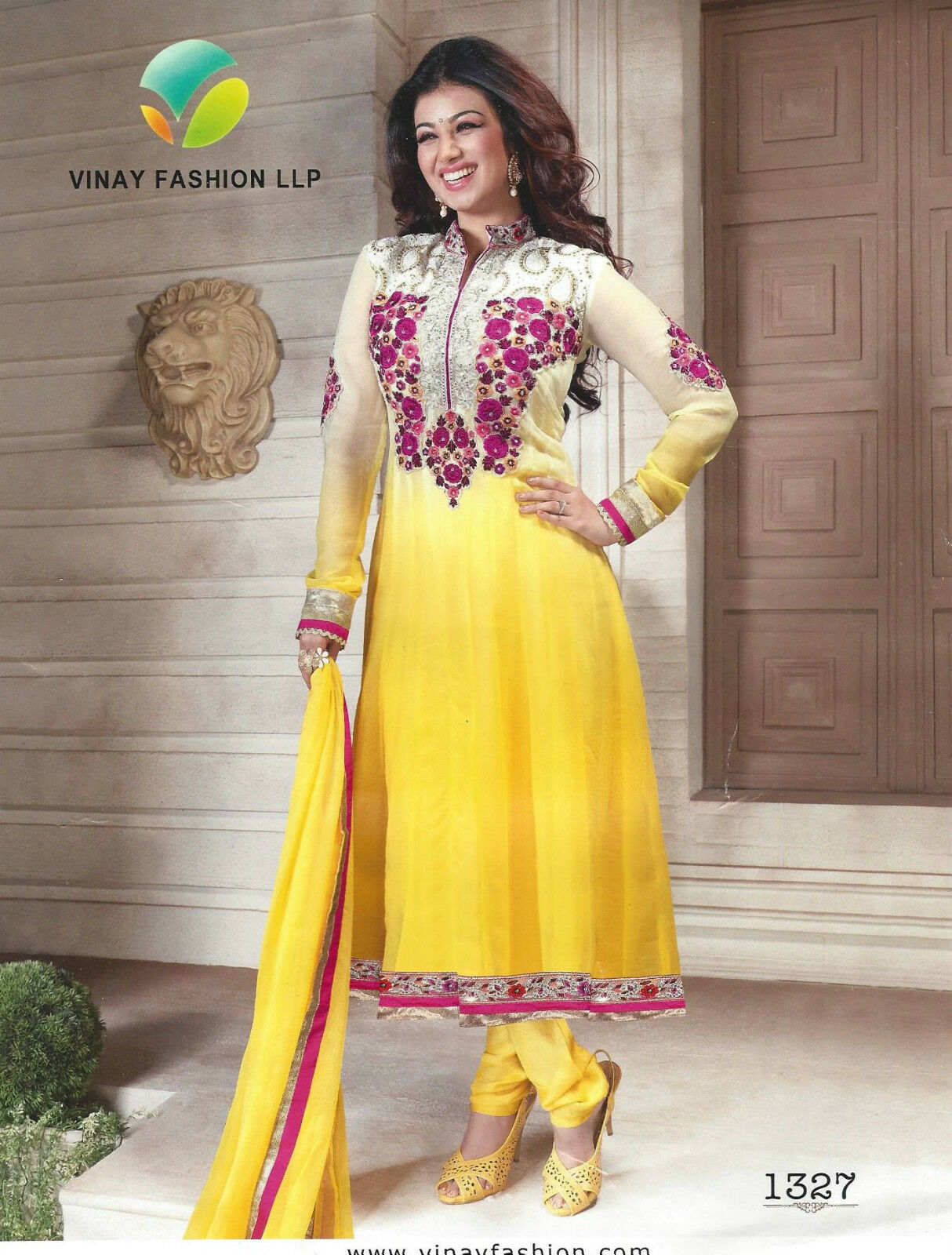 Indian Pakistani Designer Salwar Kameez Suit Party Dress Vinay Fashion LLP 1327