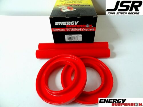 83-04 Ford Mustang Energy Suspension Front Red Polyurathane Spring Isolator Kit