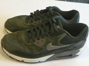 Details about junior Youth Air max green shoes size 8 US Low Top Sneakers excellent conditio